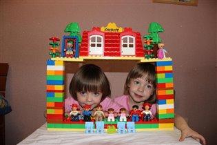 Лего домик -Для подтверждения