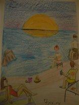 Отдых на море 2013 с семьёй