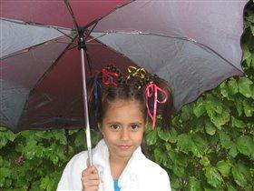 Под зонтом стою, кукую (фото-подтверждение)