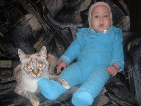 Мои котятки!