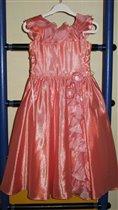 Платье нарядное р.122