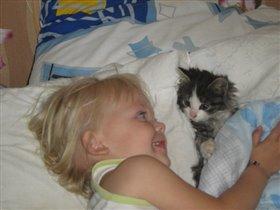 Я и мой любимый котик
