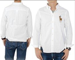 Белая рубашка мальчику Ralph Lauren