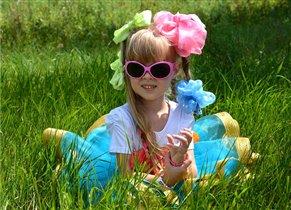 Яркая Сонька и яркое лето!