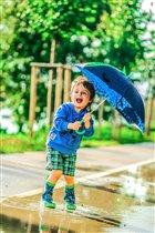 Дождь - не повод отказываться от ярких красок!