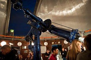 День знаний в Московском планетарии