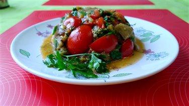 Салат баклажановый
