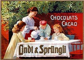 Шоколад Lindt  - из Швейцарии с любовью