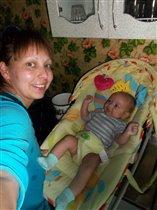 ' Я и Мой малыш на кухне'