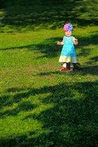 Звезда на траве