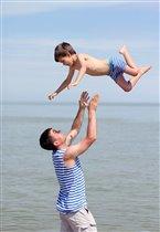 Полет юного морячка