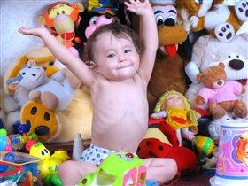 Вот сколько у меня игрушек!!!