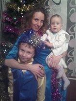 Маленький зайка и факир в новогоднюю ночь 2015.