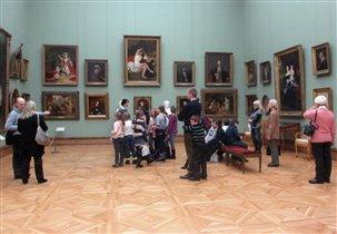 В залах большого искусства