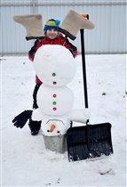 Хулиганский снеговик