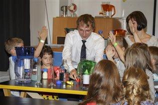 Урок чистой воды в музее «Экспериментаниум»