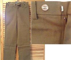 1.Новые брюки Monza ( Италия), размер 28.Цена 250р