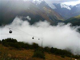 Там за туманами... (Осень в горах)