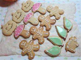 Бууу! Печенье с кленовым сиропом