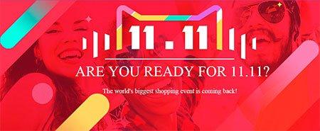 Всемирный Фестиваль Шопинга 11.11: сюрпризы от  AliExpress