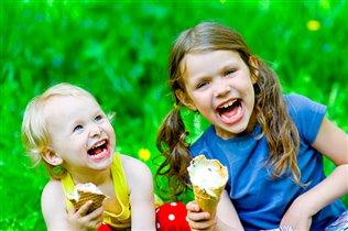 Мороженое со смешинками!