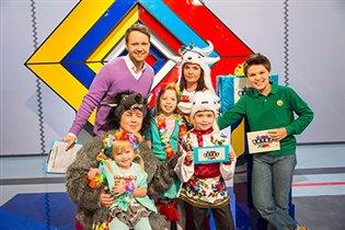 «Битва Фамилий» - премьера семейного шоу на канале «Карусель»
