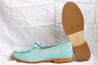 Туфли женские кожа, 37 размер, 2000р.