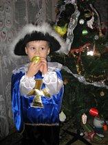 Д*Артаньян готовится к встрече Нового года