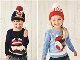 Must have: рождественская коллекция джемперов MOTHERCARE