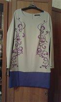 платье/туника размер 42 (48)