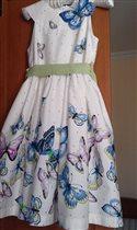 Замечательное хлопковое платье