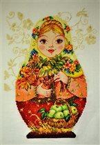 Матрешка Осенняя краса (Алиса)