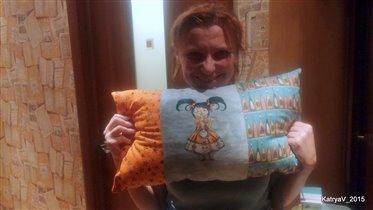 Наташа-Софико со своей Хэллоуинкой :)