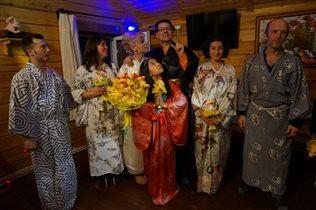 японская свадьба:)