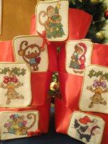 Текстильные конфетницы