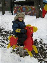 Моё детство - красный конь!