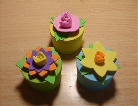 3D Flower Gift Box Kits (Baker Ross)