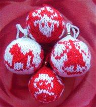 Вязанные шары