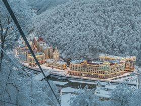 'Radisson Роза Хутор' назван лучшим горнолыжным отелем России в 2015 году