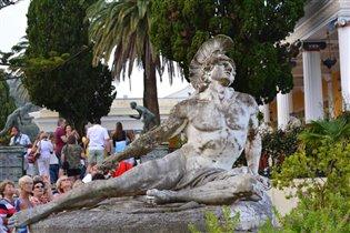Корфу,дворец Ахиллеса