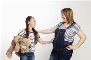 Фото конкурс 'Хочу быть как мама'