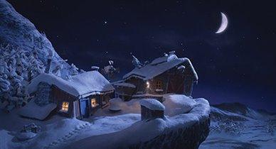 Мультфильм «Снежные приключения Солана и Людвига»