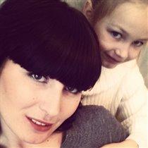 Доченька Алина и мама