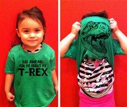 Подарки для детей: футболка-сюрприз не для пугливых