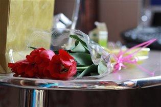 в прекрасный день*Прекрасные тюльпаны!