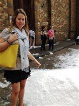 Снег во Флоренции в сентябре