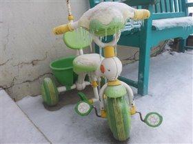 Велосипед Снежной Королевы