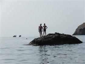 плаваем на камни
