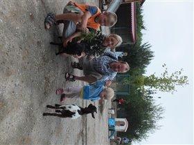детский дворик в Тайгане