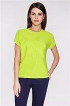 Джемпер светло-зеленый 100% х/б